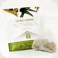 Чай зеленый в пирамидках Althaus Lung Ching (Альтхаус Лунг Чинг), 15шт*2,75 г.